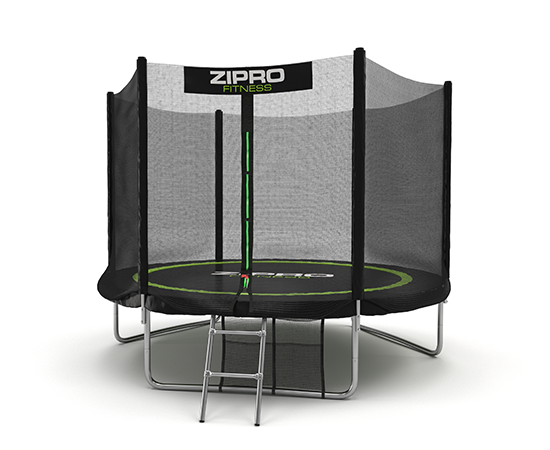 Trampoline with outer protective mesh 8FT 252cm